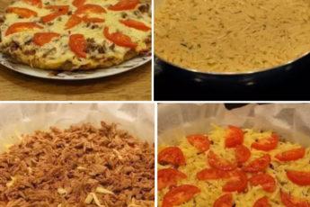 Пицца или пирог из картофеля? Решайте сами, но в любом случае очень вкусно!