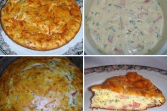 Ленивый пирог готовлю только так, муж как ребенок радуется этому блюду. Подаю с настроением.