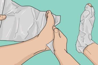 Удивитесь не на шутку! Узнайте, что с вами произойдет через час, если обернуть ноги фольгой в несколько слоев!